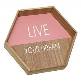 Διακοσμητικό Τοίχου InArt Live Your Dream 3-70-104-0671