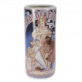 Διακοσμητικό Βάζο InArt Graphics Chocolat Ideal 3-70-489-0007