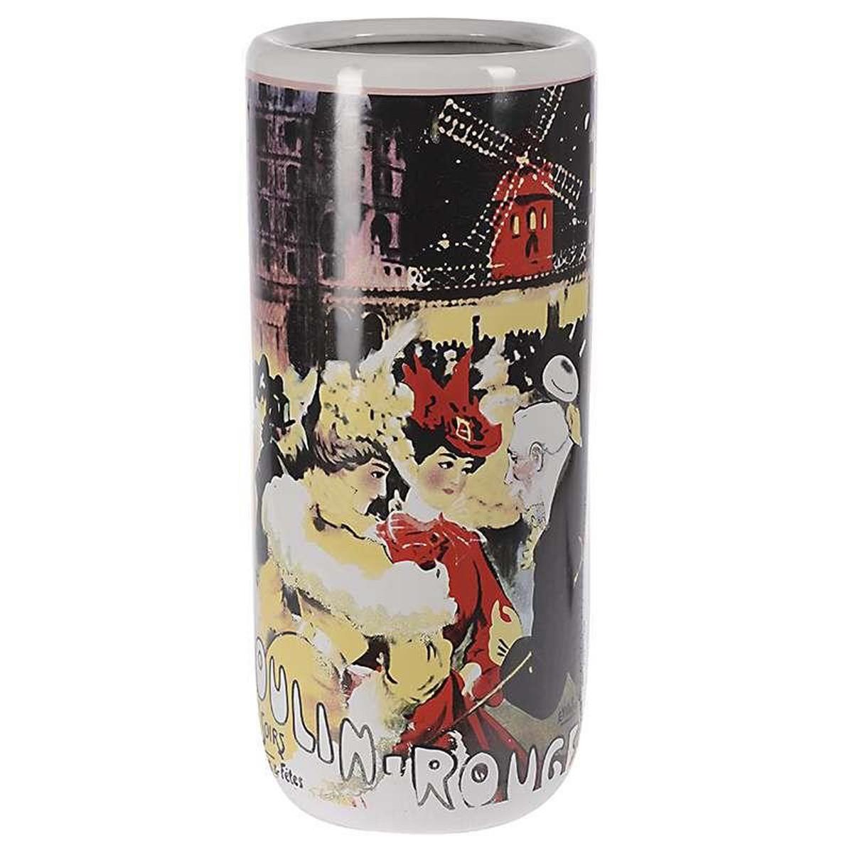 Διακοσμητικό Βάζο InArt Graphics Moulin Rouge 3-70-489-0009