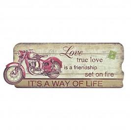 Διακοσμητικό Τοίχου InArt Vintage True Love 3-70-121-0021