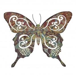 Διακοσμητικό Τοίχου InArt Butterfly 3-70-358-0012