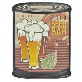 Διακοσμητικό Τοίχου InArt Vintage Bistro Beers 3-70-773-0077