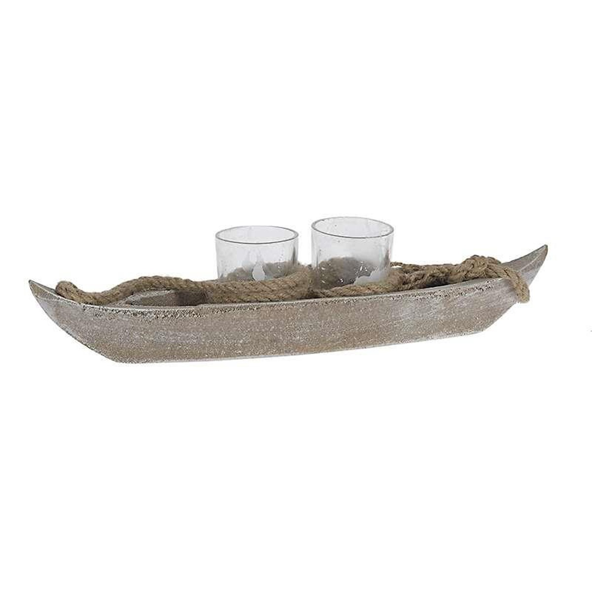 Κηροπήγιο 2 Θέσεων InArt Amun 4-70-511-0075