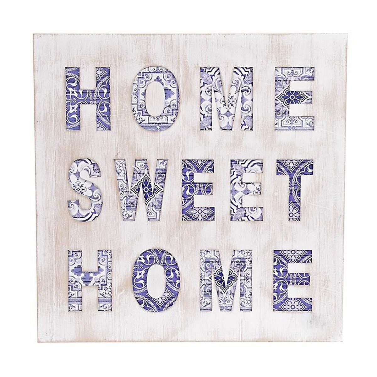 Διακοσμητικό Τοίχου InArt Home Sweet Home 3-70-193-0032
