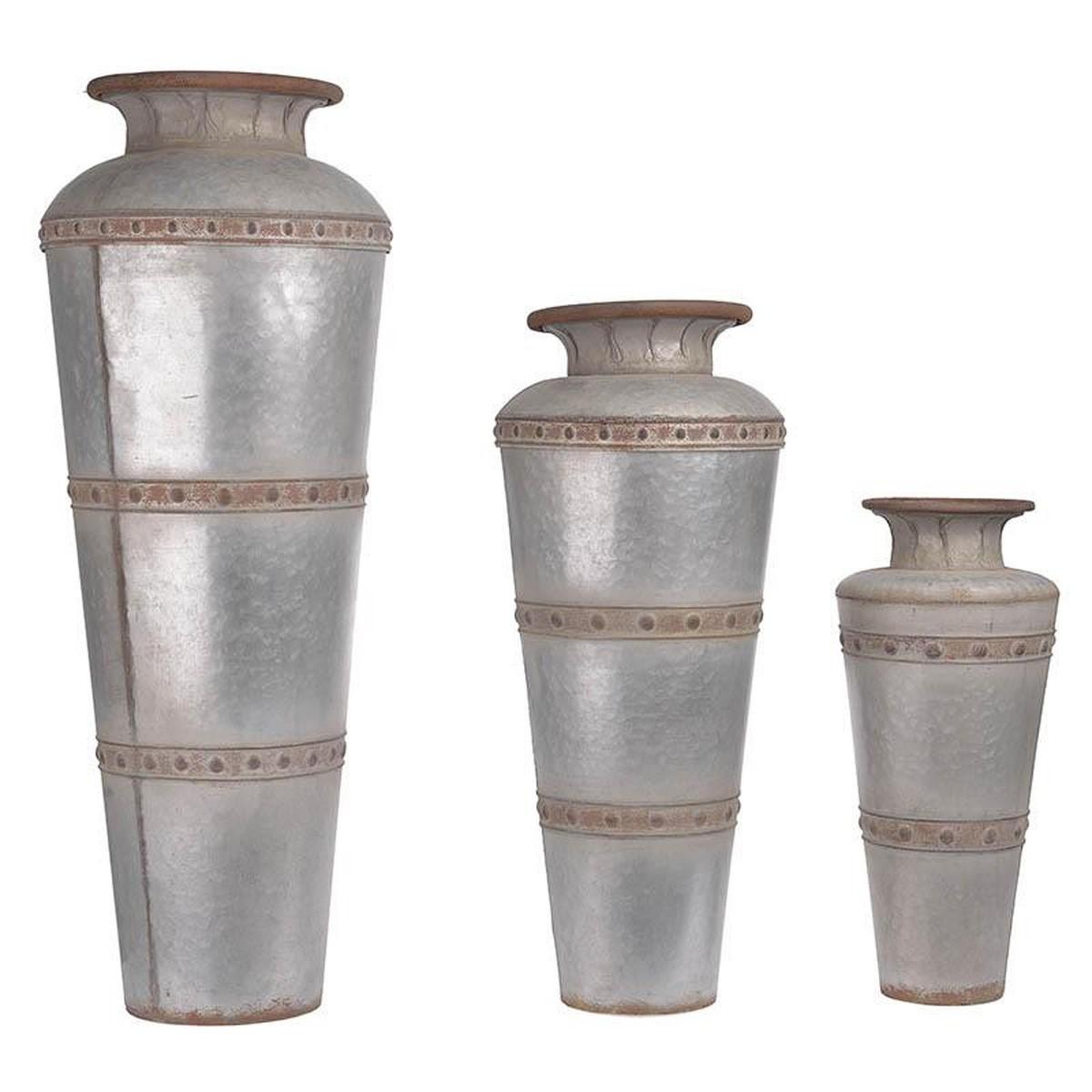 Διακοσμητικά Βάζα (Σετ 3τμχ) InArt Armour 3-70-447-0064