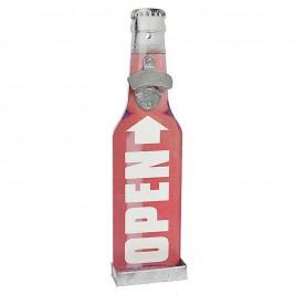 Ανοιχτήρι Τοίχου InArt Wall Bottles Open Red 3-70-104-0701