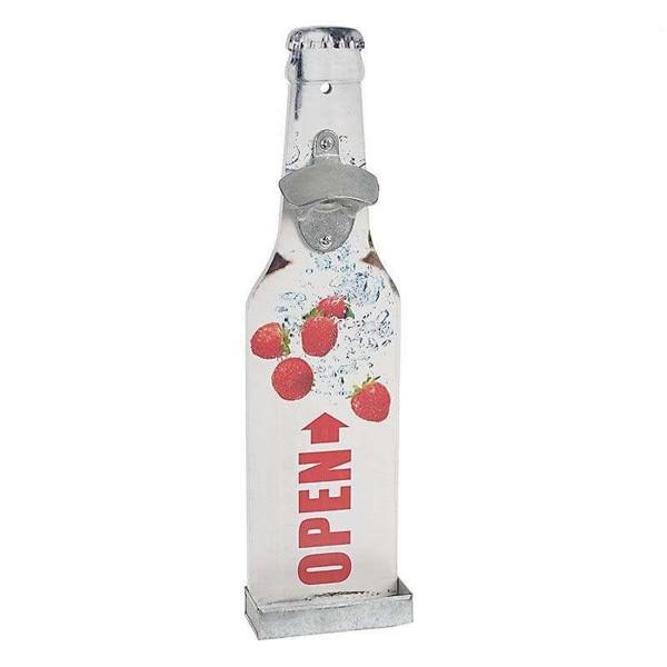 Ανοιχτήρι Τοίχου InArt Wall Bottles Strawberries 3-70-104-0703