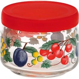 Βάζο Κουζίνας (325ml) Home Design Fruity Life Red ASFL/3
