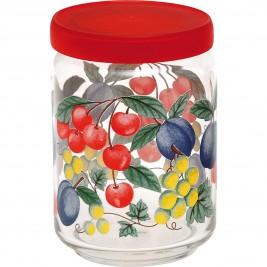 Βάζο Κουζίνας (650ml) Home Design Fruity Life Red ASFL/1