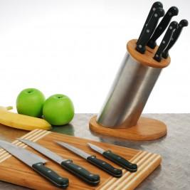 Μαχαίρια Κουζίνας (Σετ 5τμχ) Home Design YJPV6/GR