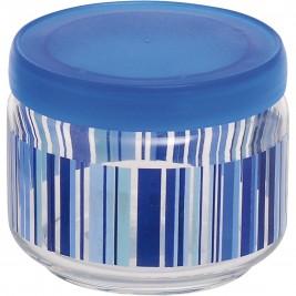 Βάζο Κουζίνας (325ml) Home Design Stripes Blue ASSE/3B