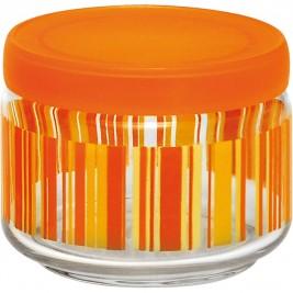 Βάζο Κουζίνας (325ml) Home Design Stripes Orange ASSU/3O