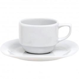 Φλυτζάνι Καφέ + Πιατάκι Home Design EHGA/C