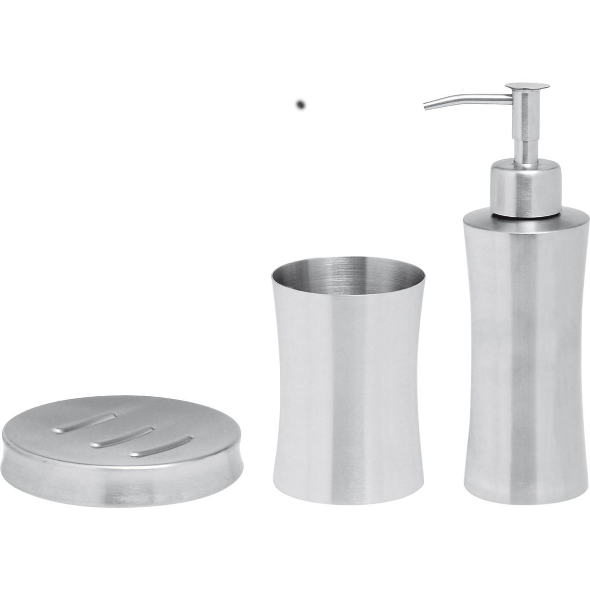 Αξεσουάρ Μπάνιου (Σετ 3τμχ) Home Design PI2512/S
