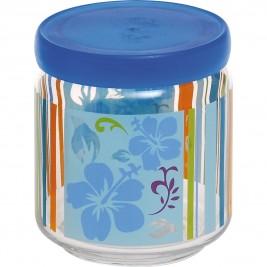 Βάζο Κουζίνας (500ml) Home Design Botanic Mix Blue ASBO/2B