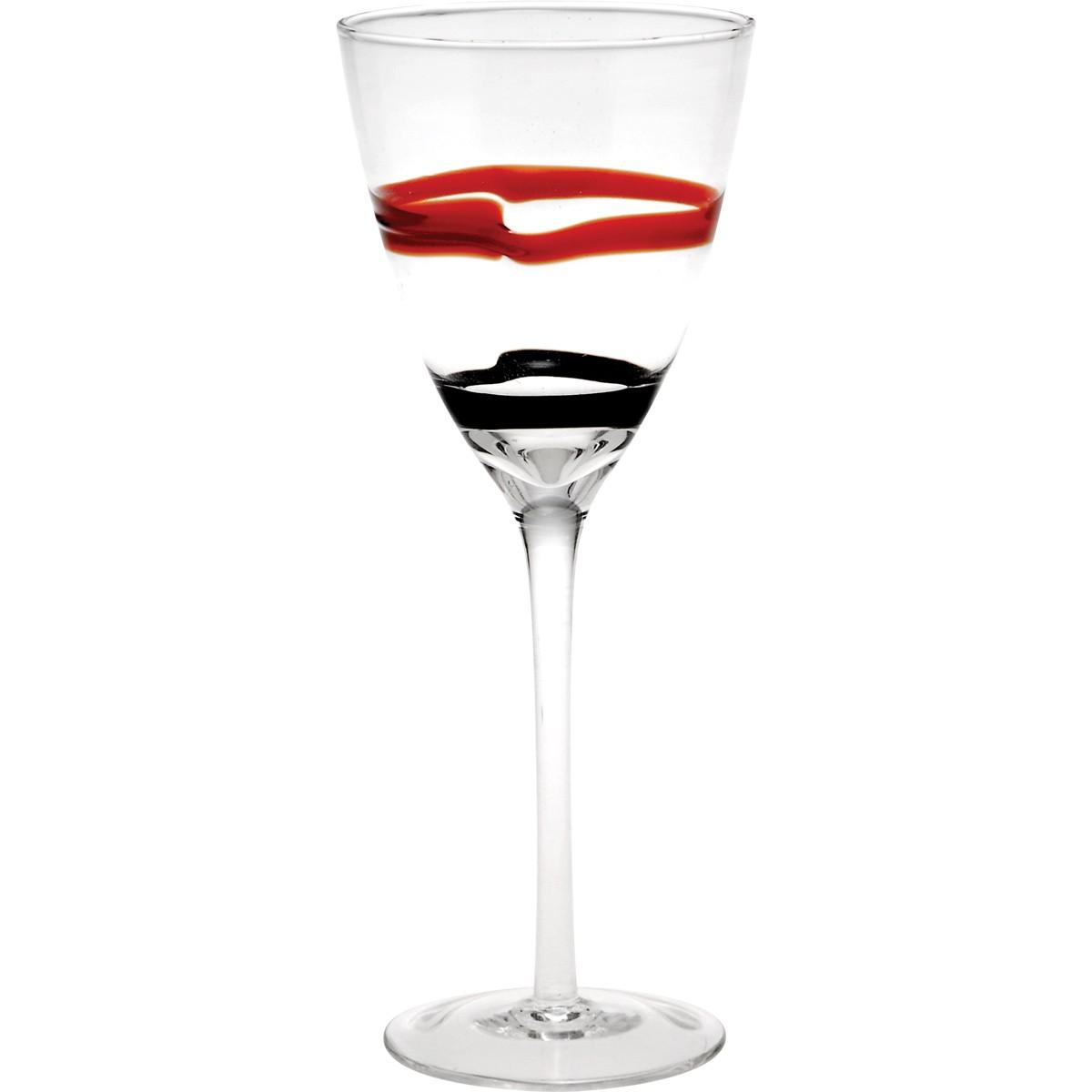 Ποτήρια Νερού Κολωνάτα (Σετ 6τμχ) Home Design SDL1104/RW