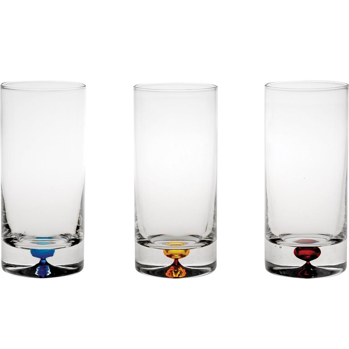 Ποτήρια Νερού Σωλήνας (Σετ 6τμχ) Home Design SXITU/9303