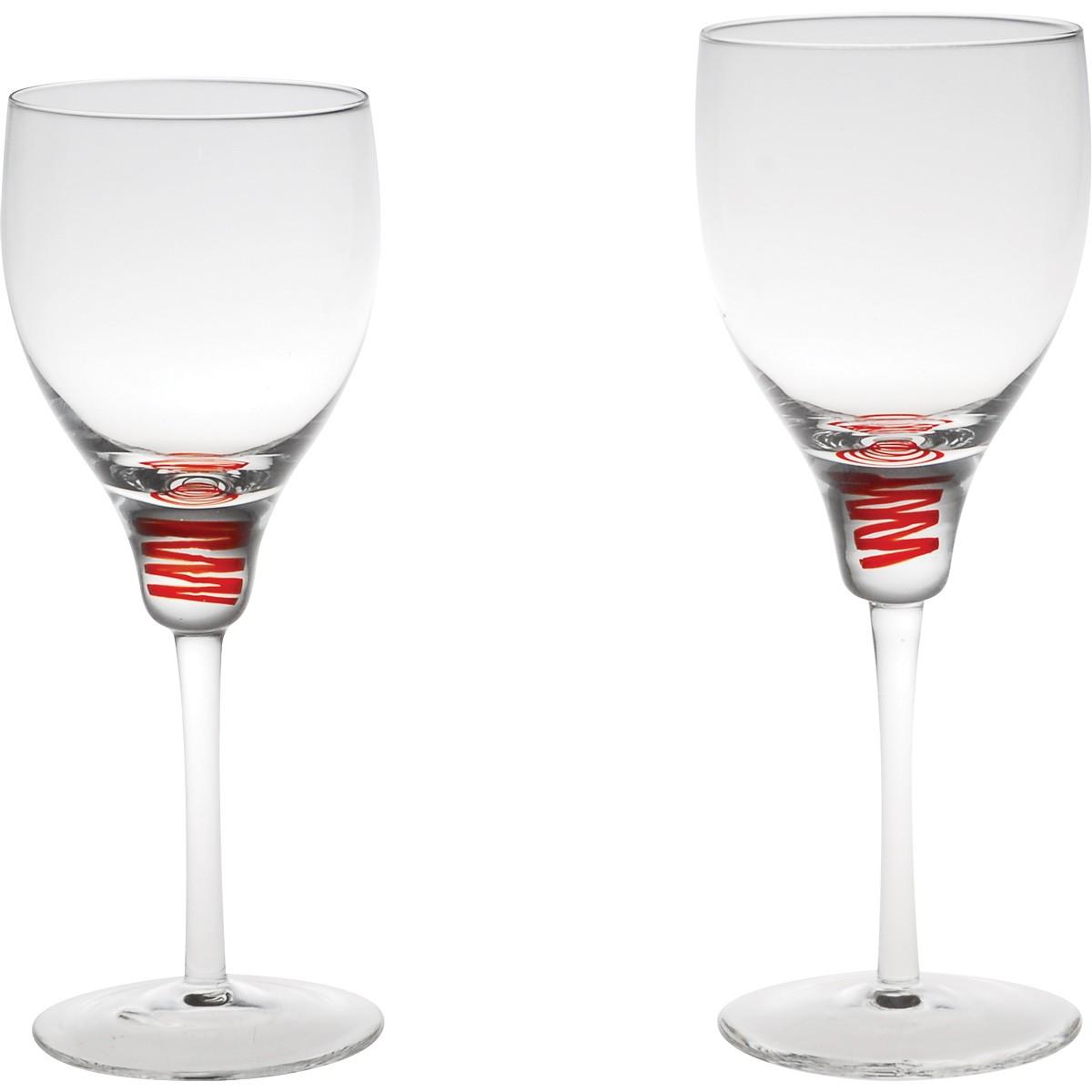 Ποτήρια Κρασιού Κολωνάτα (Σετ 12τμχ) Home Design SXIRW/9144