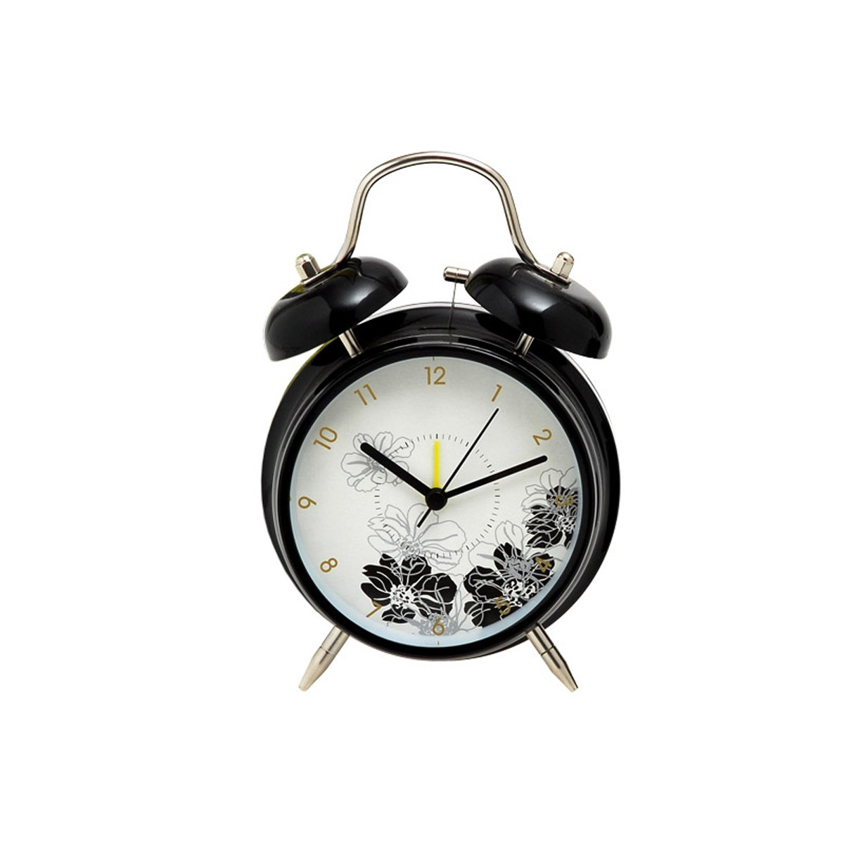 Επιτραπέζιο Ρολόι - Ξυπνητήρι Home Design DAN40/4B Black