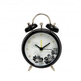 Επιτραπέζιο Ρολόι - Ξυπνητήρι Home Design DAN9408/4B Black