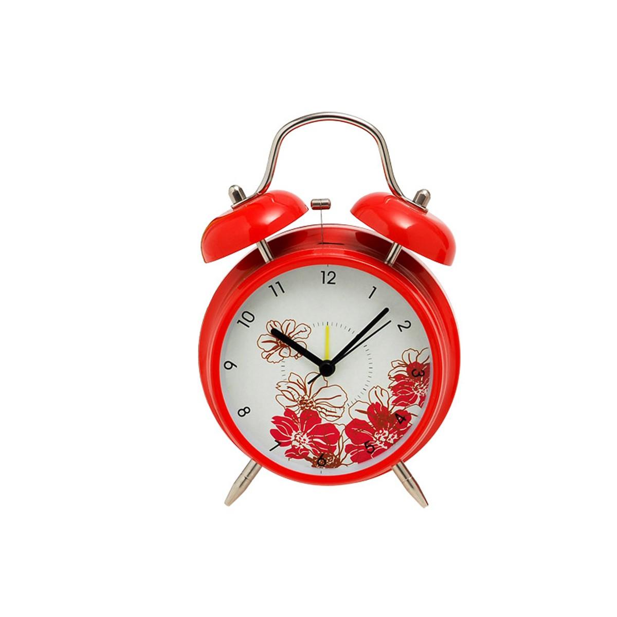 Επιτραπέζιο Ρολόι - Ξυπνητήρι Home Design DAN40/4R Red
