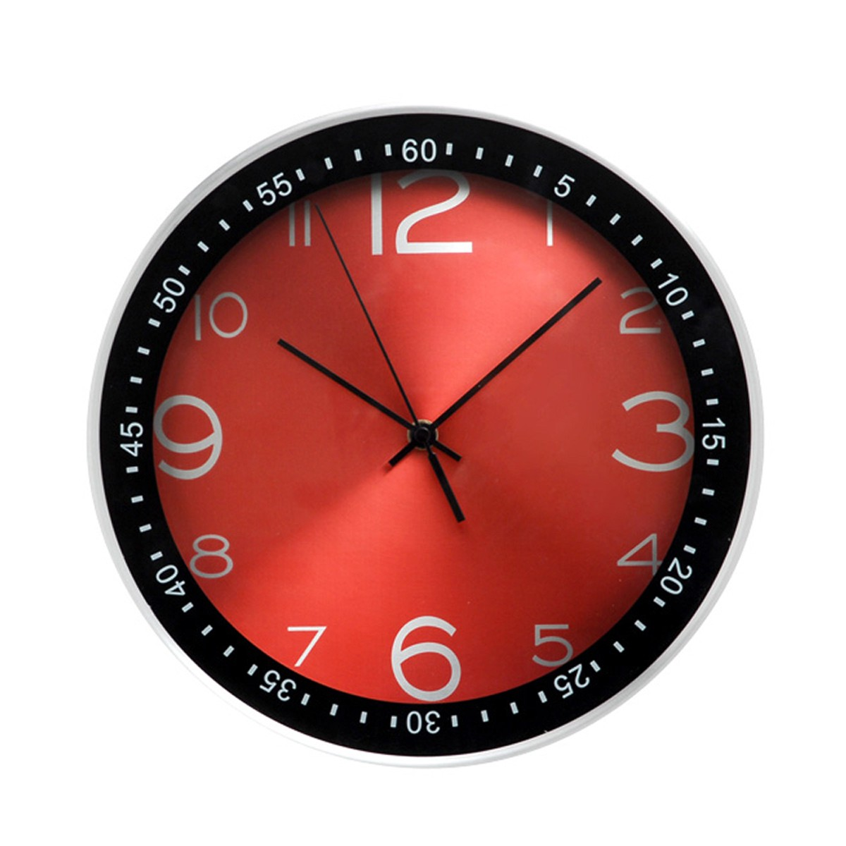 Ρολόι Τοίχου Home Design DAN2212SRD Red