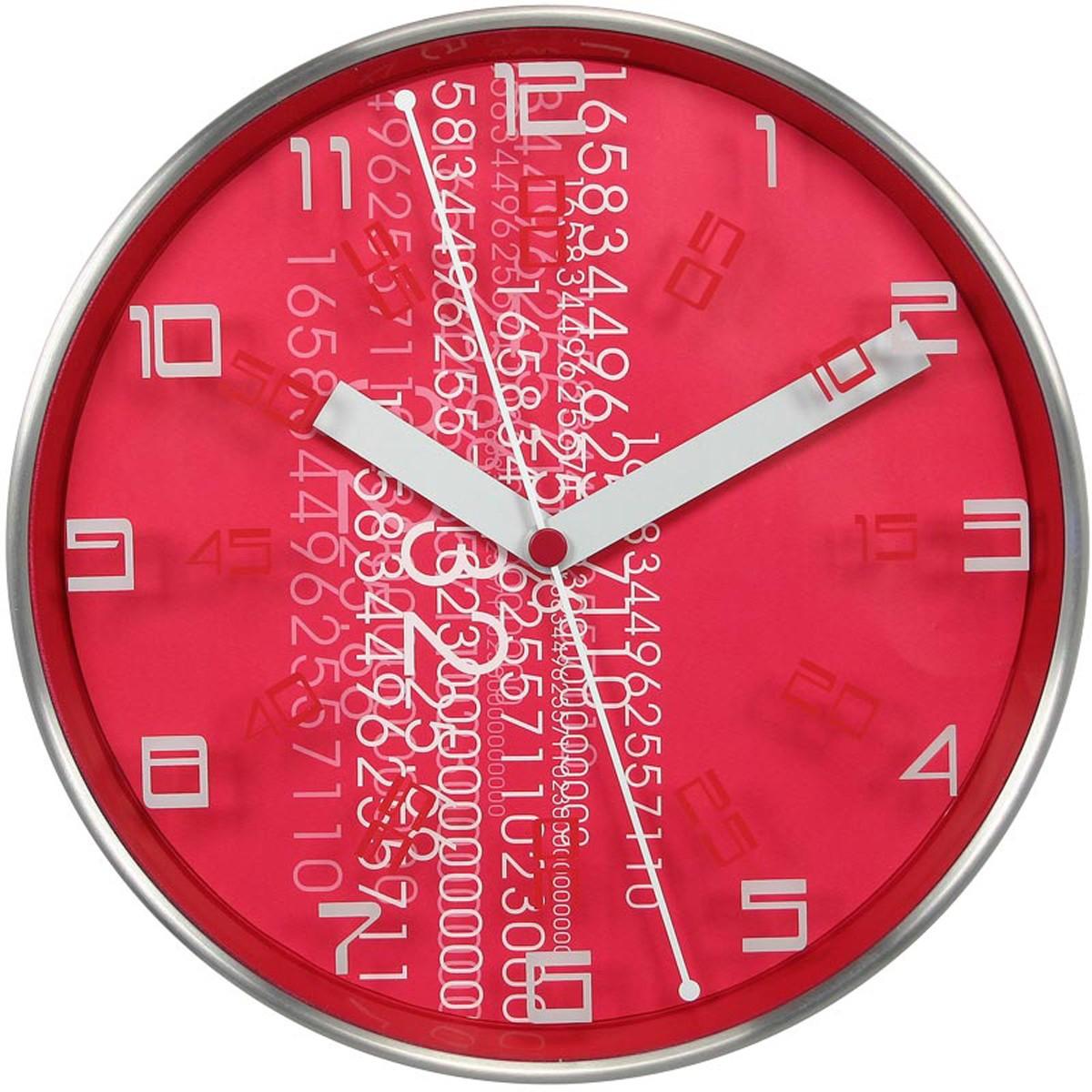 Ρολόι Τοίχου Home Design DAN2212ARD Fuchsia