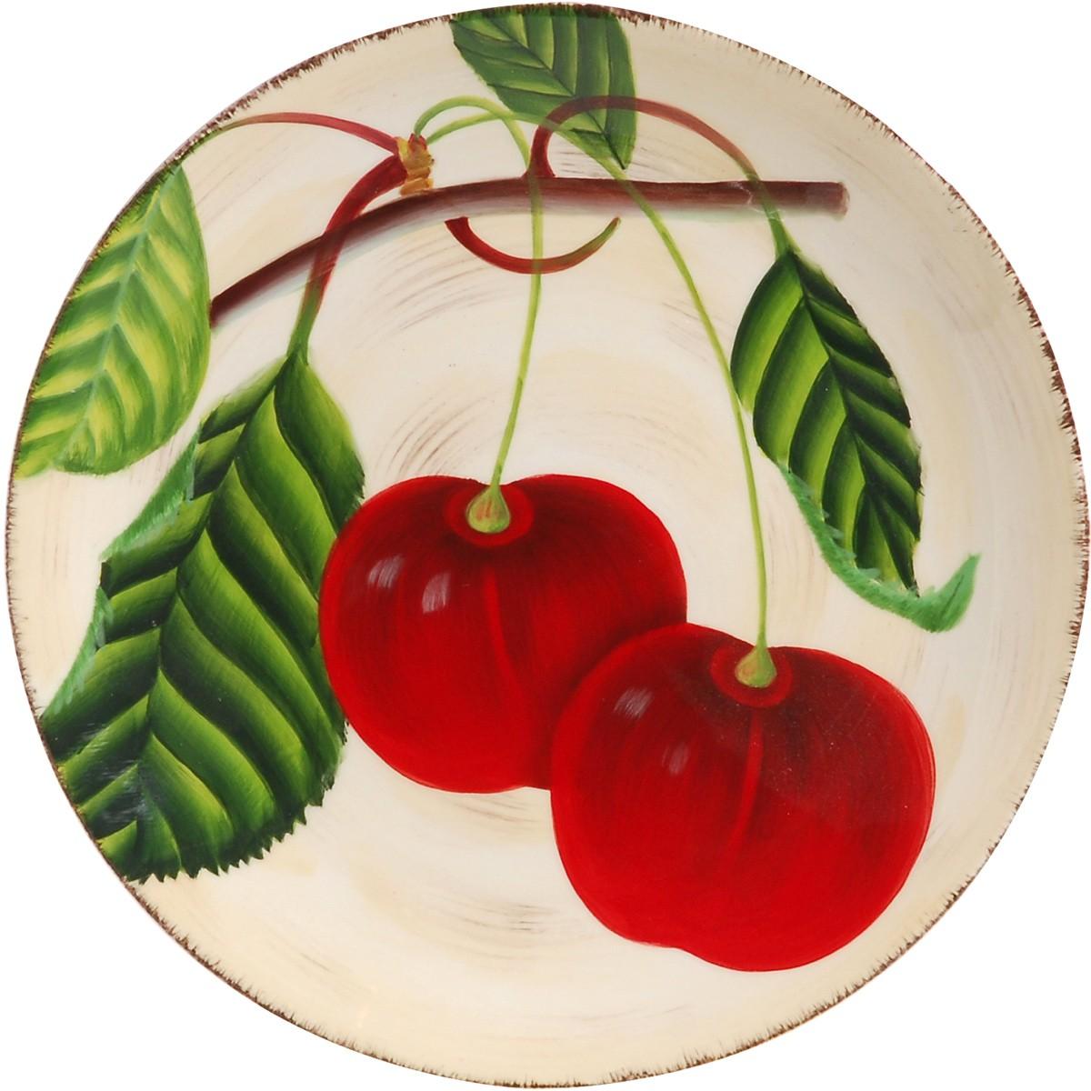 Πιάτο Φαγητού Ρηχό Home Design Κεράσι CHU3213622 home   κουζίνα   τραπεζαρία   πιάτα μπωλ