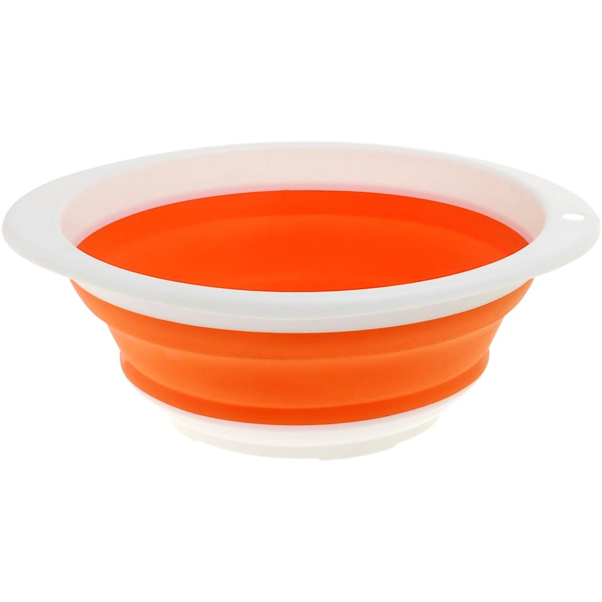 Πτυσσόμενο Σουρωτήρι Home Design Πορτοκαλί GHP9193/OR