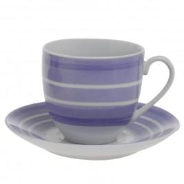 Φλυτζάνια Καφέ + Πιατάκια (Σετ 6τμχ) Home Design CXI183/02A
