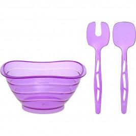 Σαλατιέρα Με Κουτάλες Home Design ASD080/P