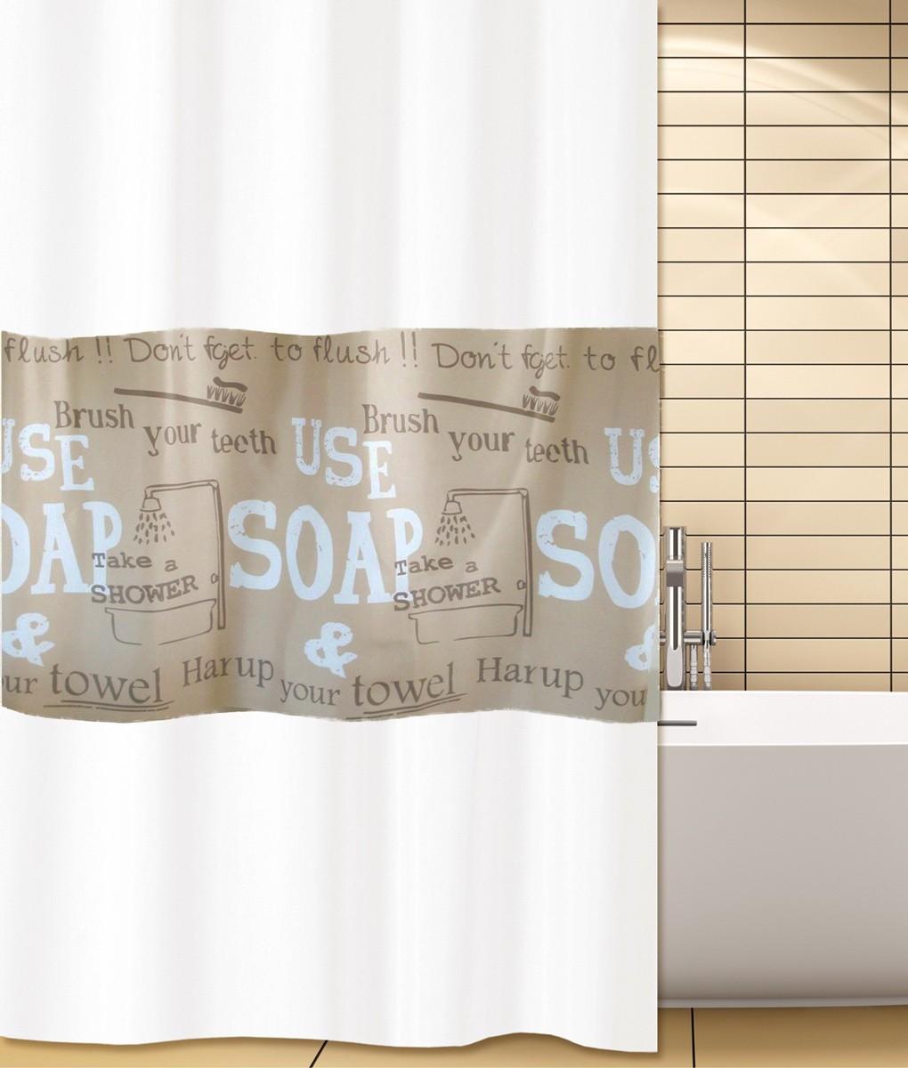 Κουρτίνα Μπάνιου (240x180) San Lorentzo Soap