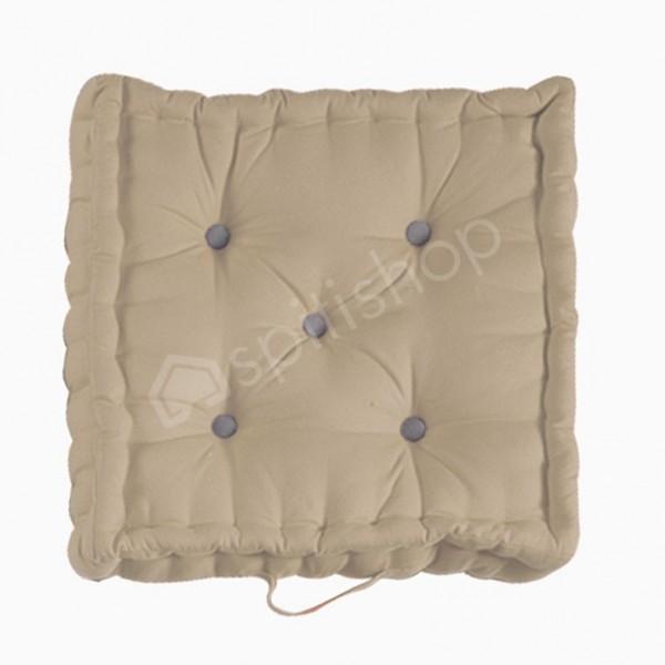 Μαξιλάρα Δαπέδου Nef-Nef Living Solid Linen