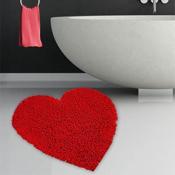 Πατάκι Μπάνιου (60x65) San Lorentzo Heart