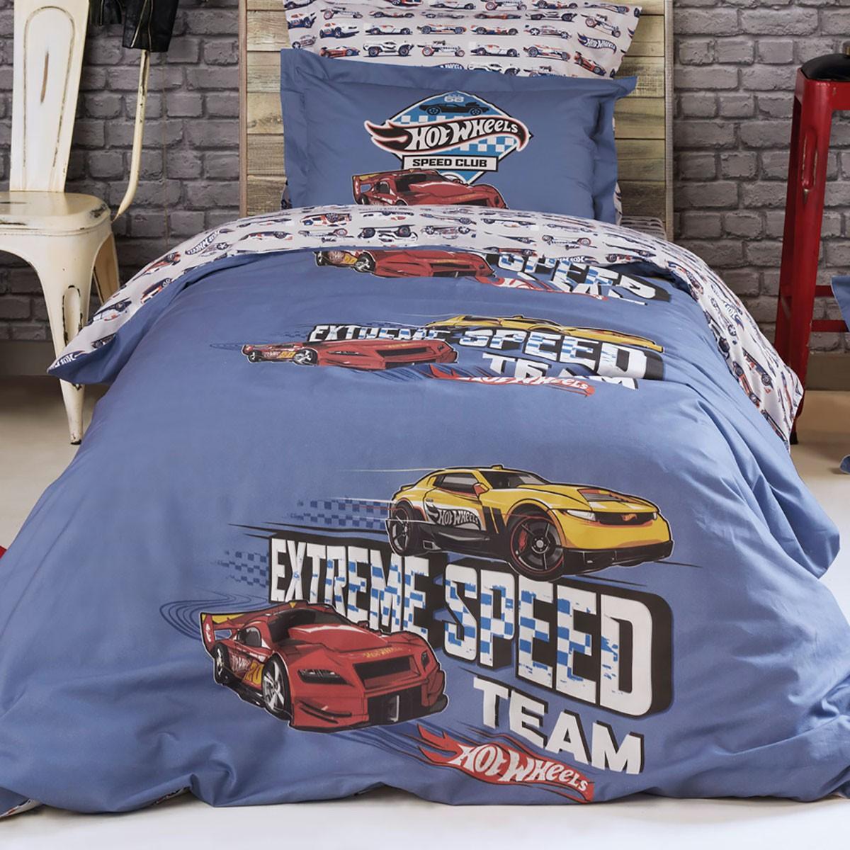 Σεντόνια Μονά (Σετ) Kentia Kids Wheels 512
