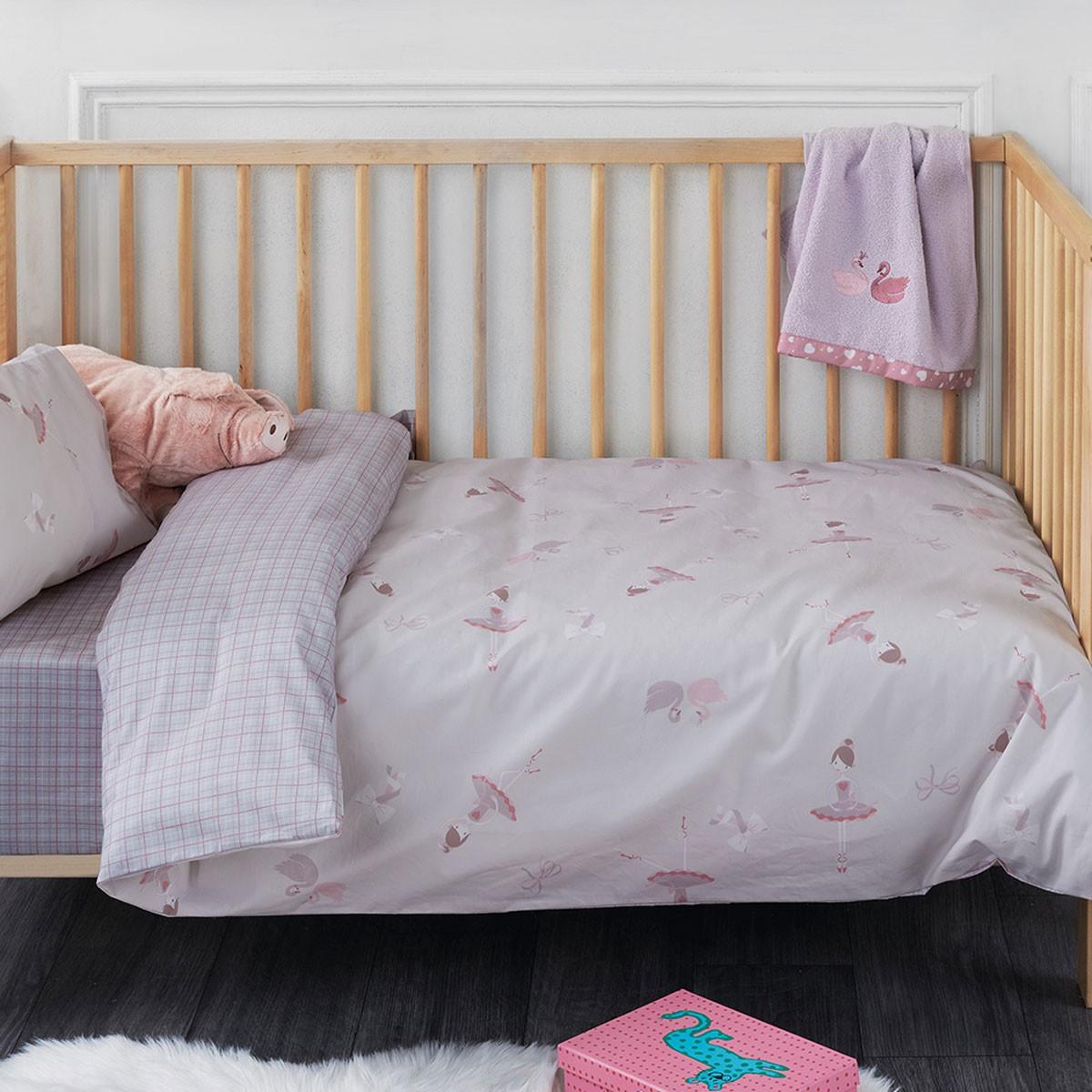 Παπλωματοθήκη Κούνιας (Σετ) Kentia Baby Tutu