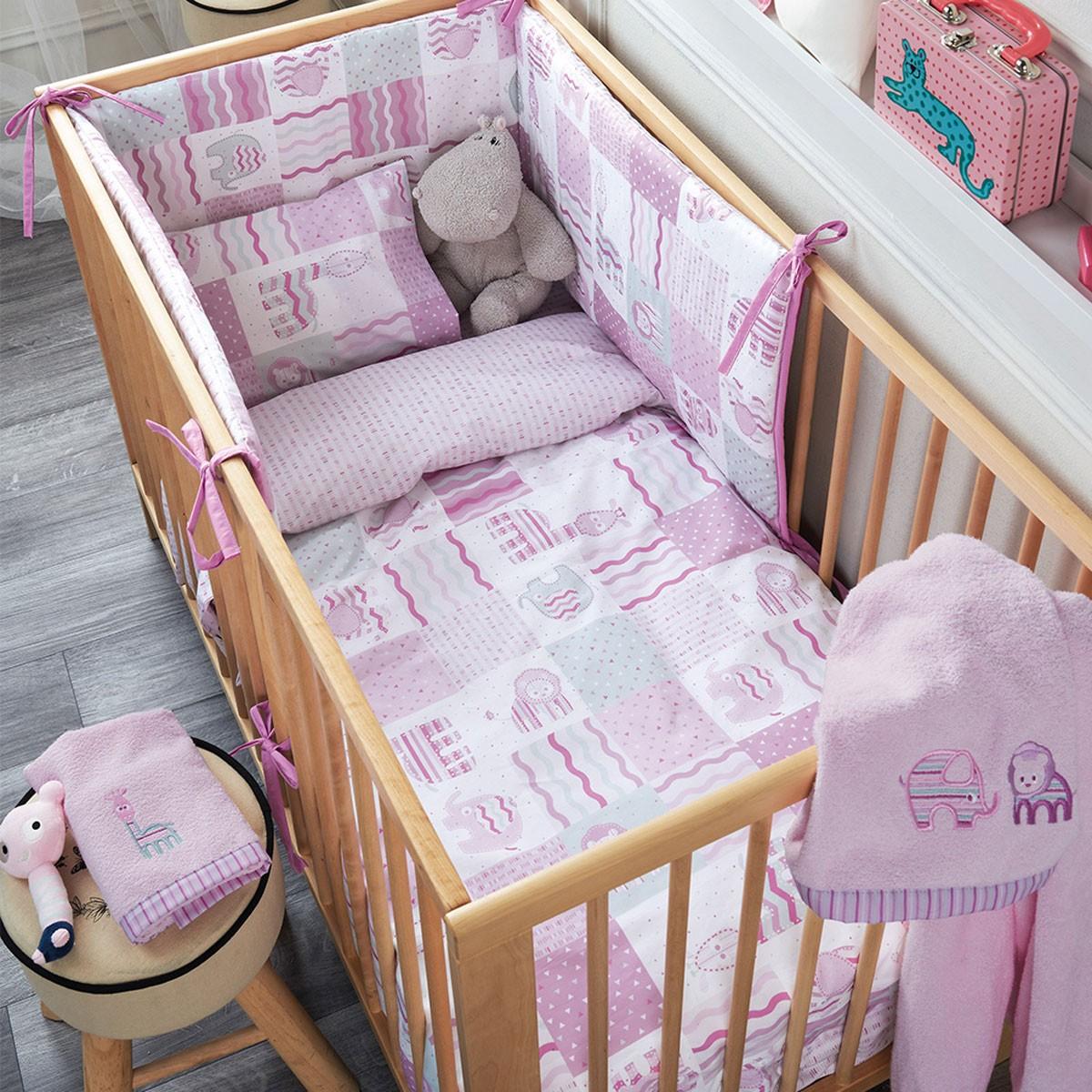 Παπλωματοθήκη Κούνιας (Σετ) Kentia Baby Lion 55140