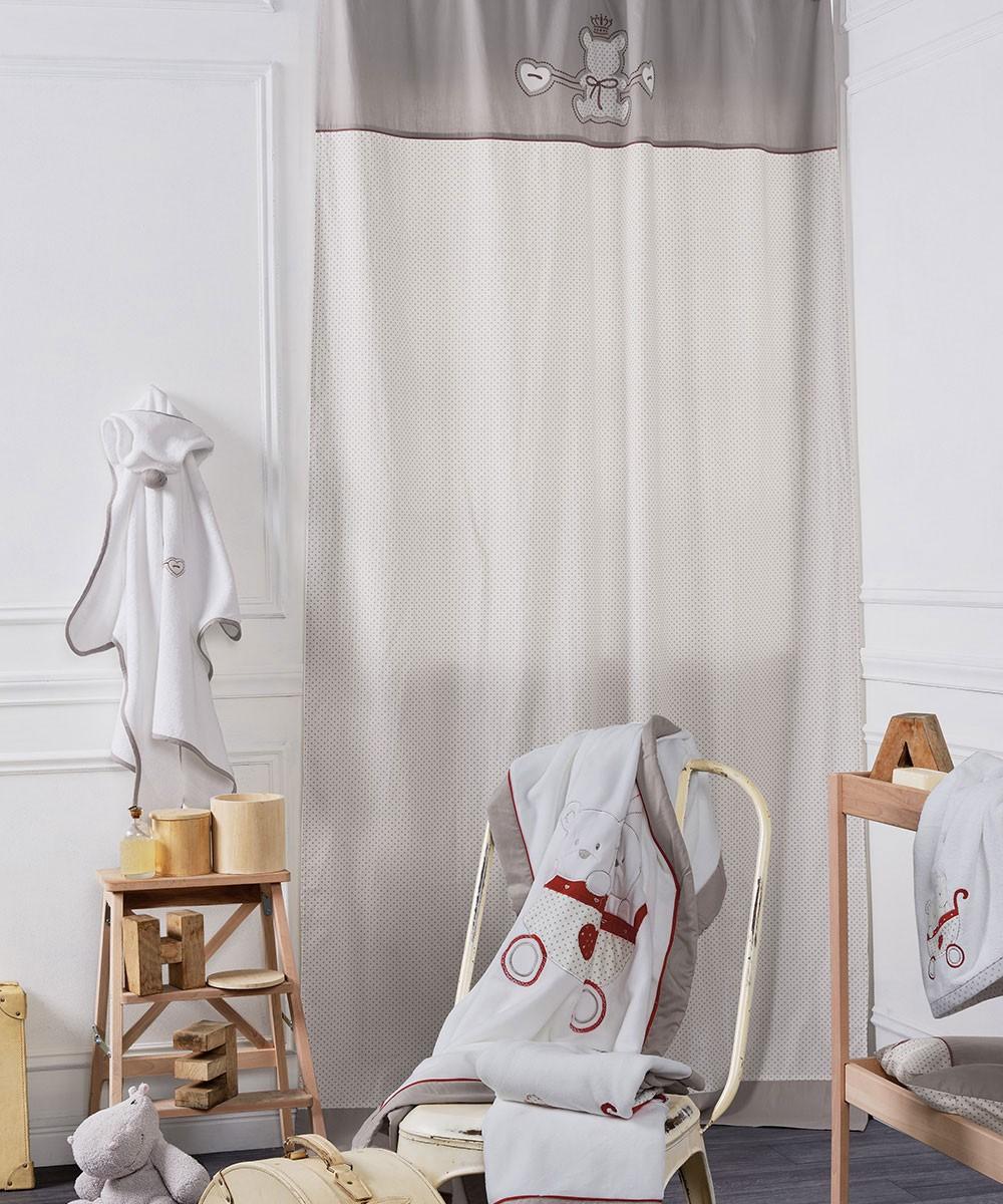 Παιδική Κουρτίνα (140x270) Με Τρέσα+Τιράντες Kentia Baby Arturo