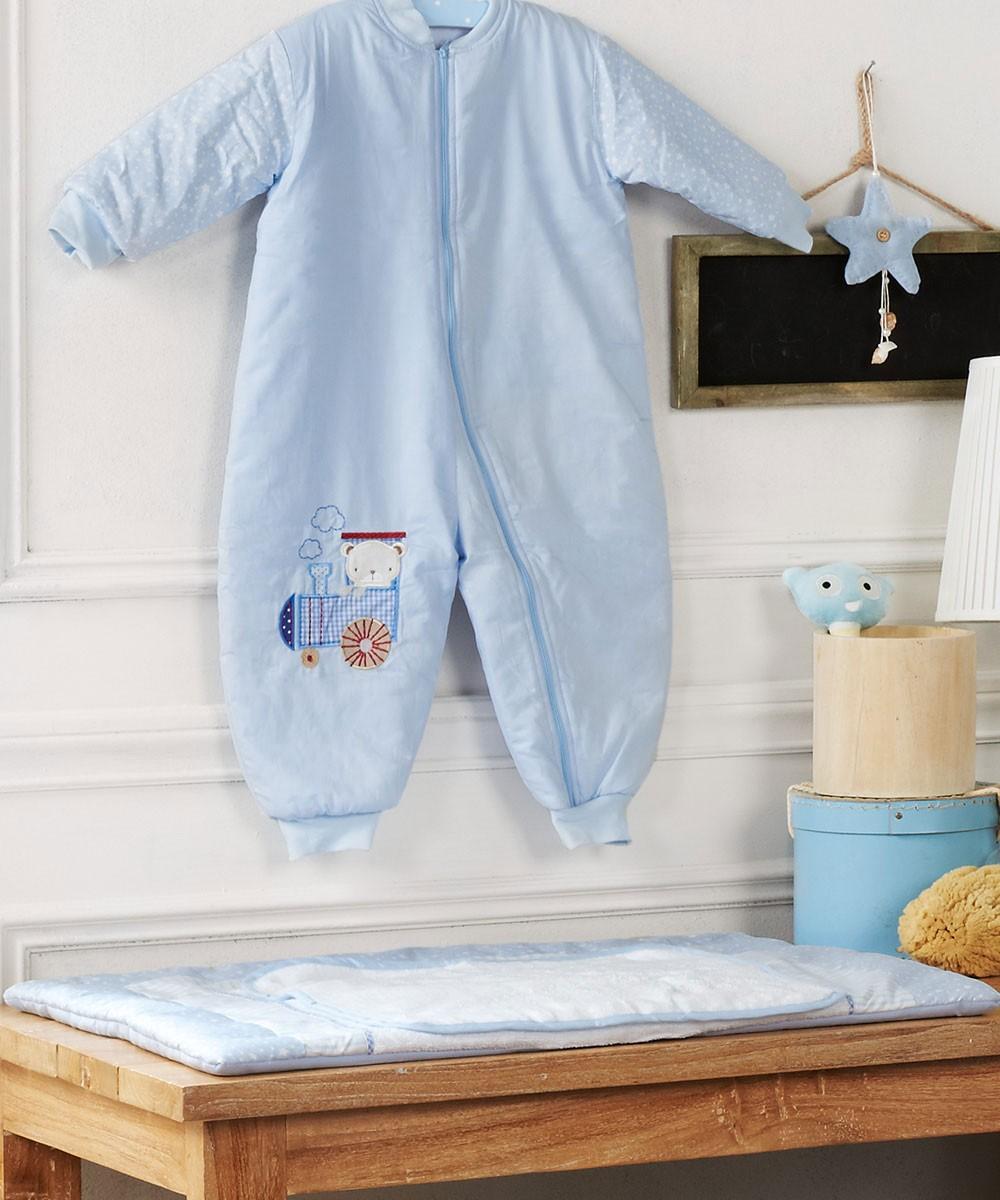 Υπνόσακος (12-24 μηνών) Kentia Baby Train Friends home   βρεφικά   υπνόσακοι βρεφικοί