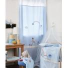 Παιδική Κουρτίνα (140×270) Kentia Baby Train Friends