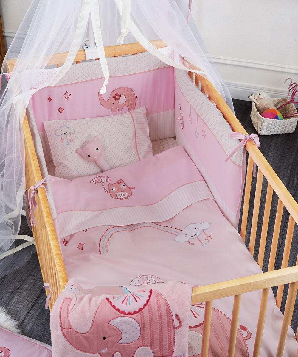 Σεντόνια Κούνιας (Σετ) Kentia Baby Happy Time