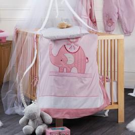 Παπλωματοθήκη Κούνιας (Σετ 4τμχ) Kentia Baby Happy Time