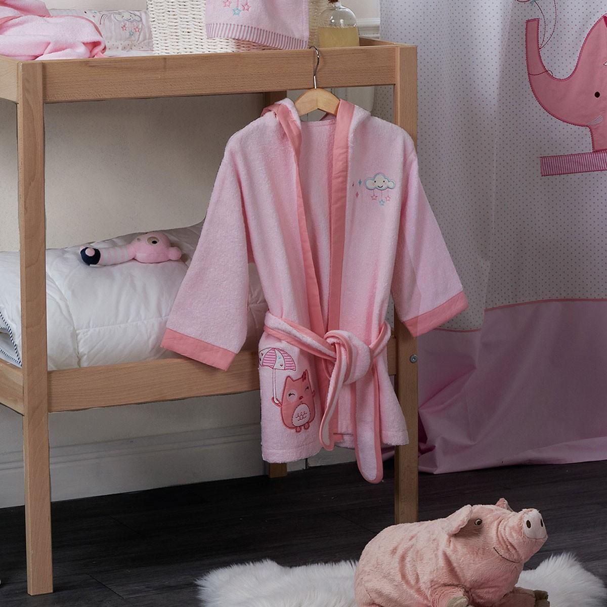 Βρεφικό Μπουρνούζι (0-12 μηνών) Kentia Baby Happy Time 55204
