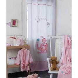 Παιδική Κουρτίνα (140x270) Με Τρουκς Kentia Baby Happy Time