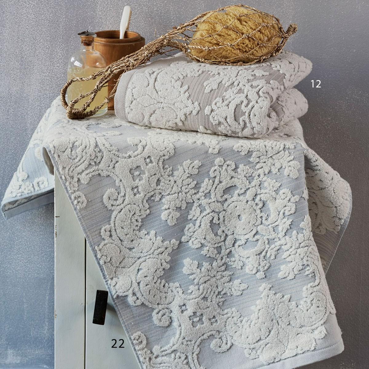 Πετσέτα Προσώπου (50x100) Kentia Bath Lilian home   μπάνιο   πετσέτες μπάνιου