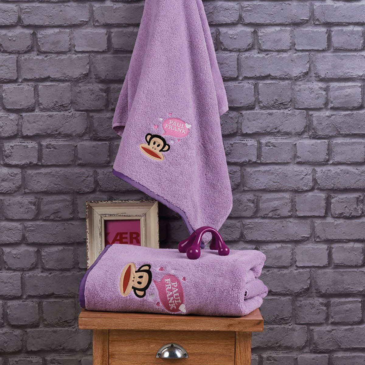 Παιδικές Πετσέτες (Σετ 2τμχ) Kentia Kids Paul Frank 08