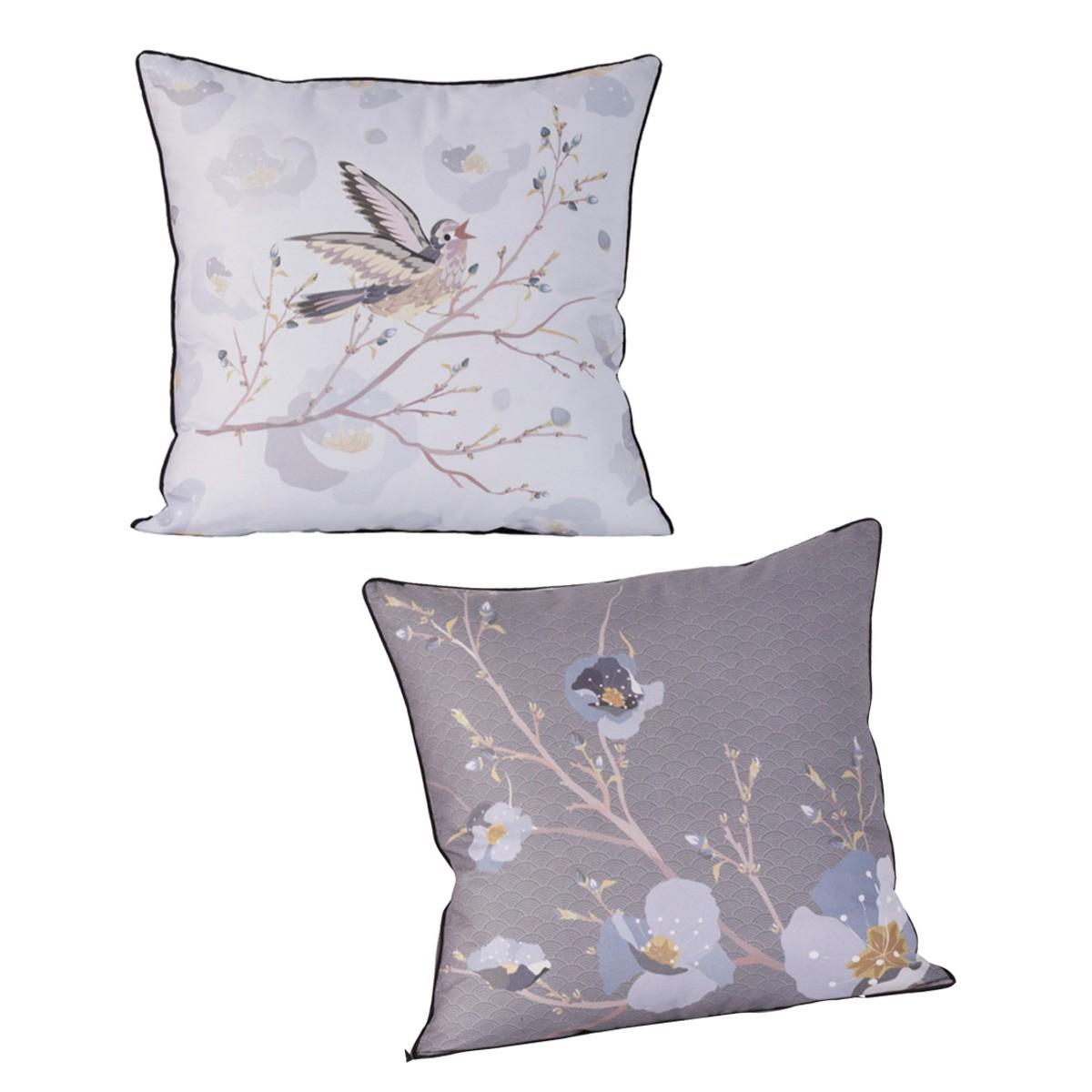 Διακοσμητική Μαξιλαροθήκη 2Όψεων Kentia Loft Clio 32 home   κρεβατοκάμαρα   διακοσμητικά μαξιλάρια