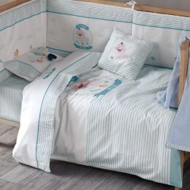 Παπλωματοθήκη Κούνιας (Σετ) Kentia Baby Sweet Baby 19