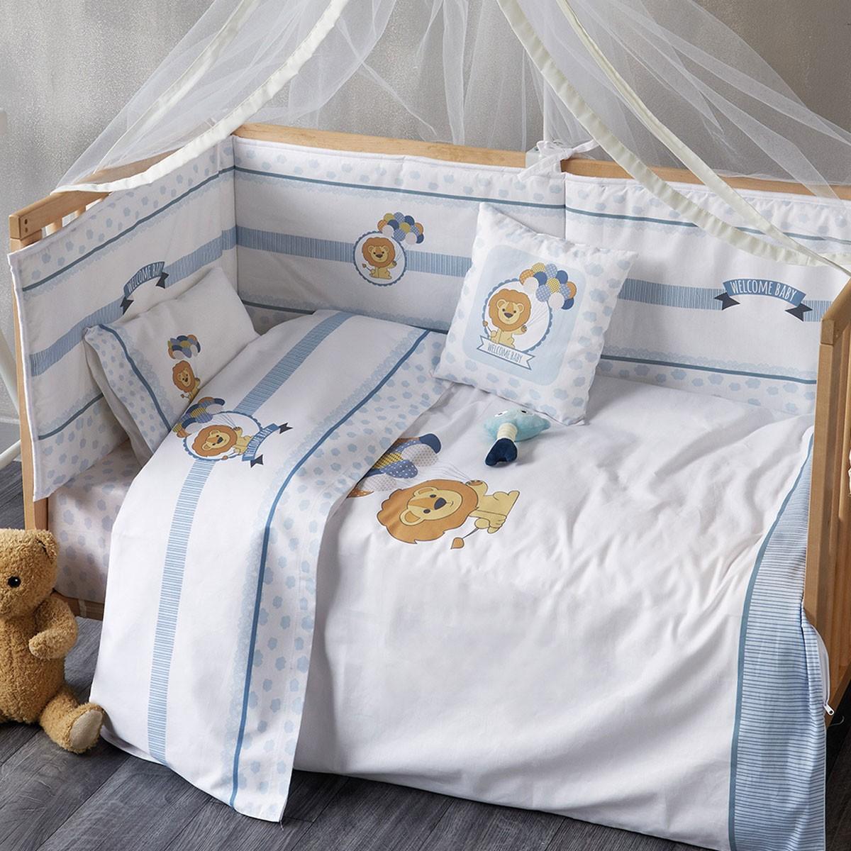Παπλωματοθήκη Κούνιας (Σετ) Kentia Baby Welcome Baby 19