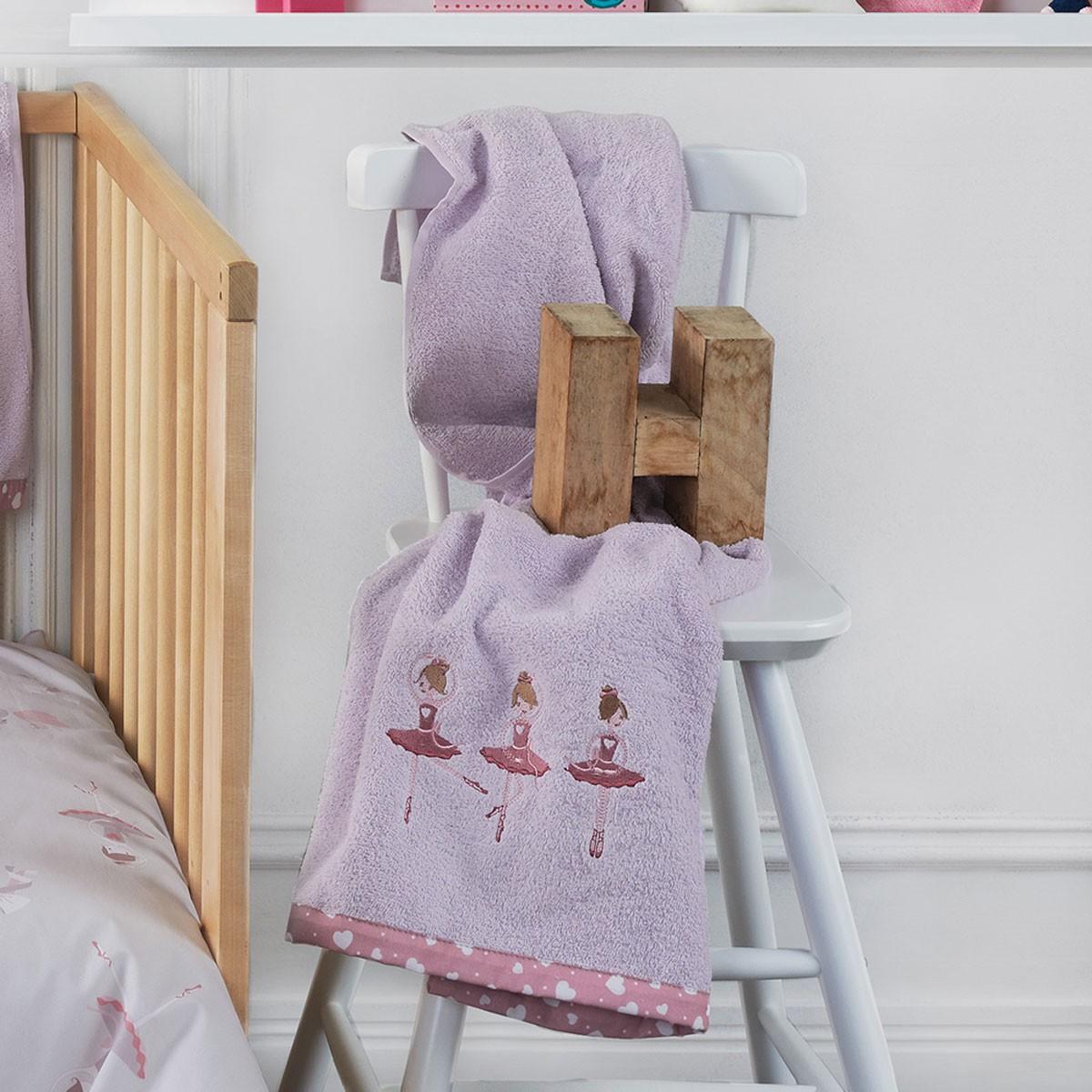 Βρεφικές Πετσέτες (Σετ 2τμχ) Kentia Baby Tutu